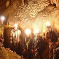 caving with a group Antipodes Millau