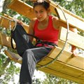 tree adventure park for adults Millau Antipodes