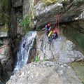 canyoning with family or friends Antipodes Millau