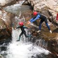 waterfall water rambling Millau kids Antipodes