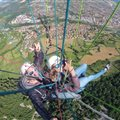 paragliding Millau viaduct Antipodes
