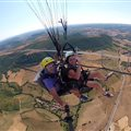 Antipodes paragliding above Millau